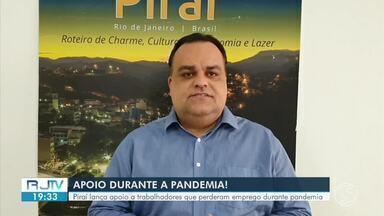 Piraí lança programa de apoio a trabalhadores que perderam emprego durante pandemia - Após cadastro prévio, a prefeitura vai disponibilizar cursos de qualificação e atualização para a recolocação no mercado de trabalho.