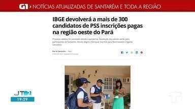 Devolução a candidatos que se inscreveram em PSS é destaque no G1 Santarém e região - Acesse essa e outras notícias no portal.