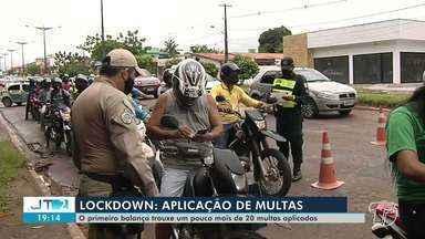 Santarenos são multados por descumprir o decreto de lockdown em Santarém - No total, 20 multas foram aplicadas no terceiro dia de vigência da medida.