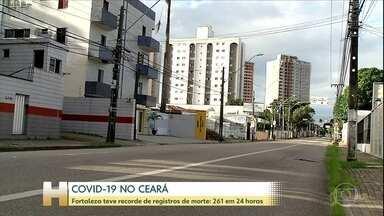 Fortaleza teve recorde de registros de morte por Covid-19 - Fortaleza teve recorde de registros de morte por Covid-19