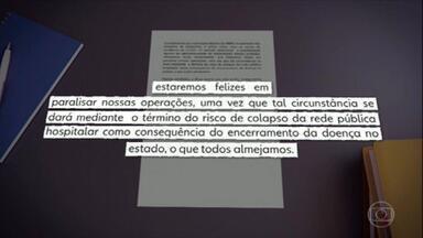 Coronavírus: Seis dos sete hospitais de campanha do estado do Rio podem não abrir - O estado do Rio de Janeiro é o segundo com mais casos confirmados e também com mais mortes provocadas pela Covid-19. Mesmo assim, a construção de seis dos sete hospitais de campanha prometidos pelo governo do estado pode ser interrompida.