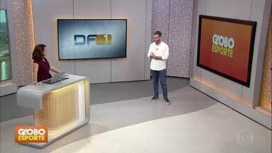 GE no DF1: destaques do Esporte neste sábado (23) - Flamengo mantém treinos durante quarentena; amanhã tem Vasco x Barcelona de Guayaquil na tela da Globo