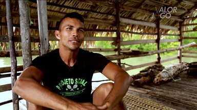 Valor em jogo: conheça a história do ex-faxineiro que virou professor de tênis no Pará - Valor em jogo: conheça a história do ex-faxineiro que virou professor de tênis no Pará