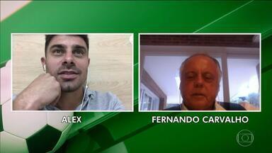 Alex e Fernando Carvalho falando sobre relação com Fernandão e relembram momentos - Assista ao vídeo.