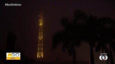 Confira como fica a previsão do tempo para esta segunda-feira (25) em Goiás - Dia amanheceu bastante frio.