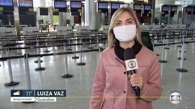 Estados Unidos proíbem entrada de voos vindos do Brasil - Medida, segundo o governo americano, é para proteger o país da Covid-19.