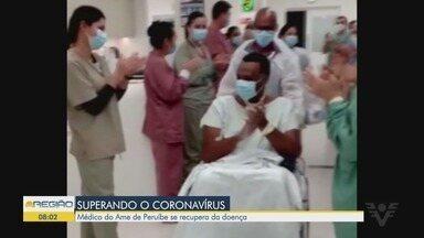 Médico de Peruíbe se recupera da Covid-19 - Ele deixou a UTI mas continua internado em um hospital em São Paulo.