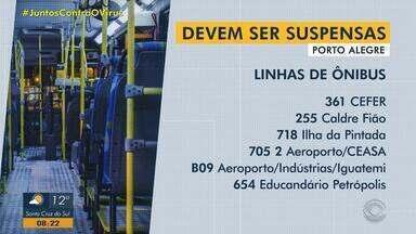 Doze linhas de ônibus de Porto Alegre devem ser suspensas esta semana - Justificativa é redução no número de passageiros que causa prejuízos às empresas.