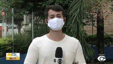 Acompanhe a atualização dos casos da Covid-19 em AL desse domingo (24) - Sesau divulgou mais um boletim epidemiológico.