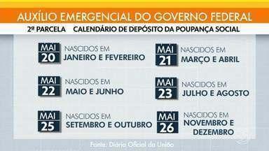 Lotes do Auxílio Emergencial estão sendo creditados de acordo com calendário - Pagamento é feito com base no último dígito do NIS.