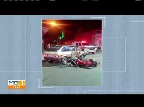 Motociclista morre após ser atingido por carro em Governador Valadares - Segundo a Polícia Militar, motorista de carro estava embriagado e era inabilitado, ele iniciou conversão e atingiu motociclista, que morreu no local.
