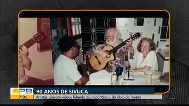 90 anos de Sivuca; artistas gravam vídeos falando da importância da obra do mestre - Confira a homenagem dos artistas e produtores paraibanos.