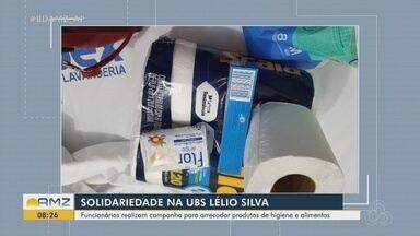 Funcionários da UBS Lélio Silva realizam campanha de arrecadação de doações para pacientes - undefined