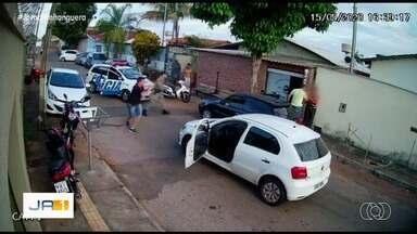 Corregedoria investiga caso de costureiro supostamente agredido por PMs, em Goiânia - Caso aconteceu no Parque Tremendão.