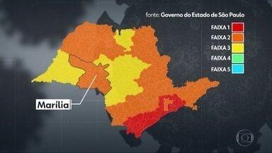 Região de Marília foi incluída na fase 2 - A flexibilização foi determinada pelo governo do estado.
