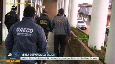 Daniel Scola comenta operação que prendeu 15 pessoas por desvio de R$ 15 milhões - Entre eles, está o Prefeito de Rio Pardo.