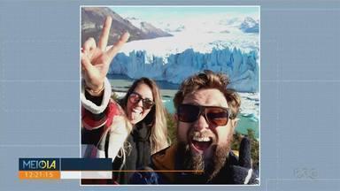 Após isolamento na Argentina, casal de viajantes consegue chegar ao Paraná - Rubens e Larissa viajavam pela América do Sul há mais de um ano, mas tiveram que ficam em isolamento na Argentina.
