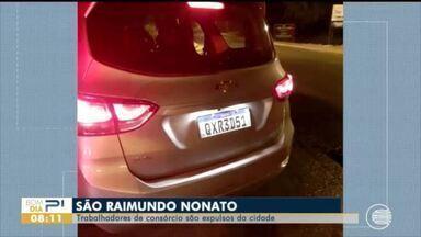 Trabalhadores de consórcio são expulsos de São Raimundo Nonato - Trabalhadores de consórcio são expulsos de São Raimundo Nonato