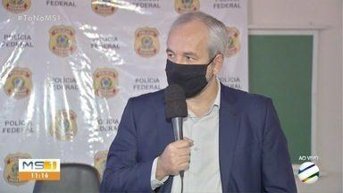 PF faz quarta fase de operação que investiga máfia do cigarro em MS - Arthmoi investiga o envolvimento de policiais em esquema de contrabando