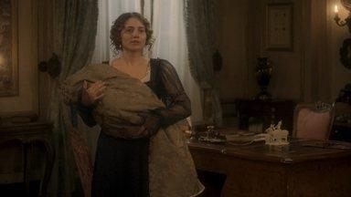 Dom Pedro discute com Leopoldina por causa dos cuidados com Januária - Bonifácio conversa com Lurdes e se preocupa com o estado da princesa