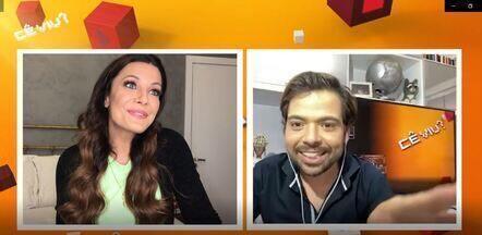 Cê Viu? 30/05/2020 - íntegra - Cecília fala sobre comida, entrevista o humorista Gustavo Mendes e faz bolo.