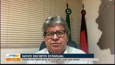 Reunião entre Governador e prefeitos define novas medidas de restrições - Entre as novidades, serão instaladas barreiras sanitárias entre as cidades da Região Metropolitana de João Pessoa