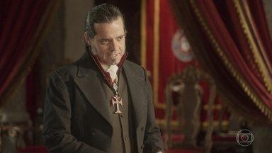 Pedro diz a Bonifácio que está apaixonado pela amante - Bonifácio se incomoda e acaba sugerindo que também está gostando de uma mulher