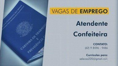 Confira vagas de emprego em Goiás - Veja como se candidatar.