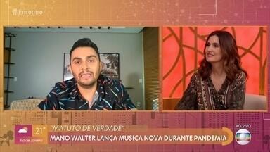 Mano Walter lança música nova durante a pandemia - Confira!