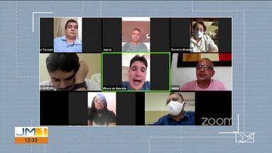 Em Timon, dois vereadores trocam insultos e até acusações graves durante sessão virtual - A reunião estava marcada para discutir ou aprovar medidas sobre a pandemia do novo coronavírus, mas encontro acabou em discussão.