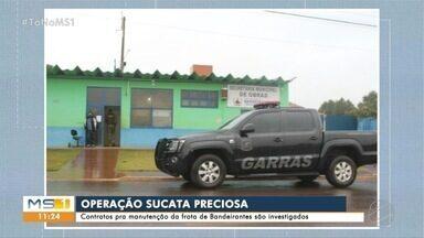 Gaeco investiga fraudes em manutenção da frota da prefeitura de Bandeirantes - Segundo investigações, esquema envolveria secretarias de Educação, Obras e Agricultura.