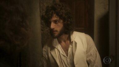 Joaquim conta a Bonifácio que Domitila é amante de Pedro - Dom Pedro decide passar a noite toda com Domitila