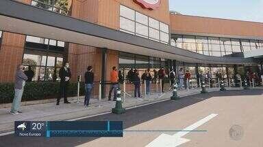 Shopping de São Carlos reabre com horário reduzido - Medidas seguidos protocolos para evitar a contaminação por coronavírus.