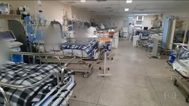 Estado de São Paulo tem maior número de casos e mortes por coronavírus em 24 horas - Foram 327 óbitos só nas últimas 24 horas. Plano de começar a flexibilizar a quarentena nas regiões laranjas no mapa continua.