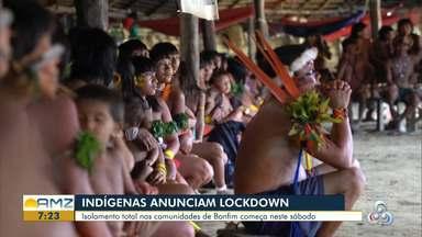 Indígenas de Roraima anunciam 'Lockdown' nas comunidades do estado - Isolamento total nas comunidades de Bonfim começa neste sábado.