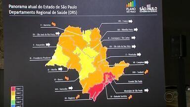 Cidades da região de Avaré podem regredir de fase da flexibilização da quarentena - Cidades da região de Avaré podem regredir de fase da flexibilização da quarentena, segundo secretário de Desenvolvimento Regional, Marco Vinholi, e secretária de Desenvolvimento Econôico, Patrícia Ellen.
