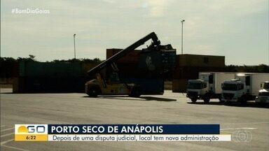 Porto Seco de Anápolis tem nova administração - Aurora da Amazônia assume as operações do local pelos próximos 35 anos.