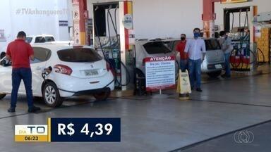 Preço da gasolina volta a subir e assusta consumidores em Palmas - Preço da gasolina volta a subir e assusta consumidores em Palmas