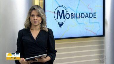 Michele Costa informa sobre os detalhes do trânsito - Michele Costa informa sobre os detalhes do trânsito.
