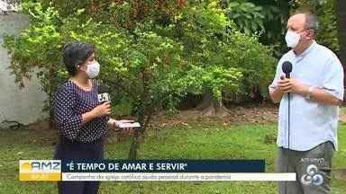 Igreja católica faz uma série de ações para ajudar necessitados nesta pandemia - Dom Roque é também presidente do conselho indigenista, falou de ações a indígenas neste período.
