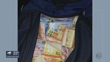 Suspeitos de assalto a banco com família de gerente refém são presos - Crime foi em Caldas