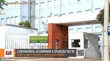 Hospital de Porto Alegre tem surto de coronavírus com 25 profissionais infectados - Desses, 24 estão em isolamento domiciliar e um está internado.