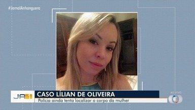 Homem suspeito de matar mulher que desapareceu no aeroporto chega a Goiânia - Suspeito de matar Lilian de Oliveira foi preso no Maranhão e transferido para Goiânia. Polícia ainda tenta localizar o corpo da mulher.