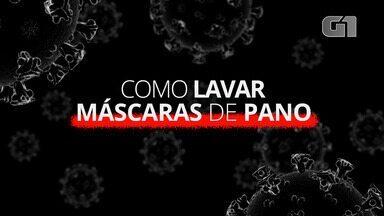 Coronavírus: Como lavar máscaras de pano? - Série especial do G1 tira as principais dúvidas sobre a covid-19.