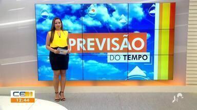 Veja a previsão do tempo para esta quinta-feira (04) no CE - Saiba mais no g1.com.br/ce