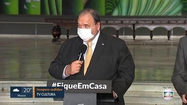 Profissionais da saúde serão testados para coronavírus - São 8 mil testes feitos por dia em São Paulo, segundo o governo do estado.