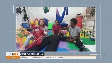Instituição CRPI de Guarujá pede ajuda para continuar atendimentos - Trabalho de assistência social é feito no local, e instituição precisa de ajuda em meio a crise.