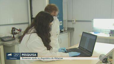 Pesquisadores de São Carlos desenvolvem biossensor para o diagnóstico do mal de Alzheimer - Estudo foi realizado na USP. Ainda não há data prevista para ampliação dos testes.