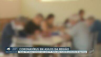 Covid-19: asilos da região de Campinas registram 148 casos entre funcionários e idosos - Piracicaba (SP) concentra o maior número de pacientes diagnosticados com a doença, com 90 testes positivos e 17 óbitos.