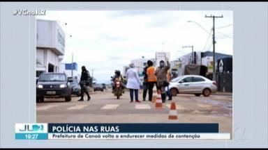 Prefeitura de Canaã dos Carajás endurece medidas de isolamento social - Prefeitura de Canaã dos Carajás endurece medidas de isolamento social